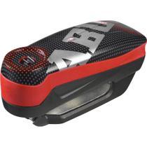 Trava de Disco c/ Alarme Detecto 7000RS1 Pixel cor Vermelho marca Abus -