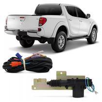 Trava Elétrica de Caçamba Mitsubishi L200 Triton 2007 a 2015 Trava e Destrava Automático Pelo Alarme - Dial