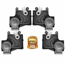 Trava Elétrica Específico p/ Fechadura Fiat, Chevrolet, Ford - 4 portas - KIT - Tragial