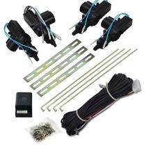 Trava Elétrica Isoflex Kit 4 portas Universal Espaguetado -