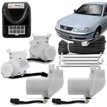 Trava Elétrica Soft Gol Parati G3 G4 Fox 00 a 13 4 Portas Mono Serventia -