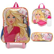 Travel Barbie Kit Mochilete com Lancheira e Estojo - Sestini 065227