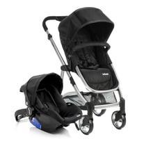 Travel System Epic Lite Duo Onyx Com Carrinho de Bebê + Bebê Conforto - Infanti -
