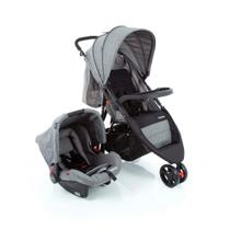 Travel System Jetty Duo Cosco - Cinza Mescla
