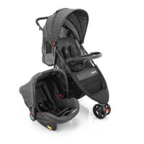 Travel System Jetty Duo Cosco - Preto Mescla