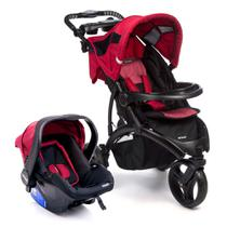 Travel System - Off Road - Duo Cherry - Infanti