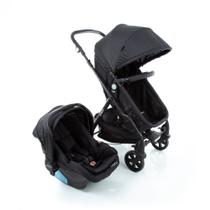 Travel System Poppy Duo Cosco - Preto Mescla