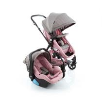 Travel System Poppy Duo Cosco - Rosa Mescla