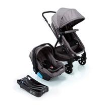 Travel System Poppy Trio Cosco - Cinza Mescla