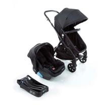 Travel System Poppy Trio Cosco - Preto Mescla