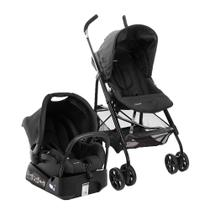 Travel System Trend 3 Posições Black - COM BASE - Infanti safety quinny voy
