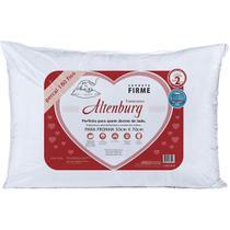 Travesseiro 50x70cm 180 Fios Suporte Firme Altenburg -