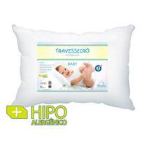 Travesseiro Baby com Fiber Ball 40x30cm - Plooma -
