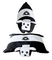 Travesseiro Cachorrinho Botafogo - Torcida Baby 88796ea1c2073