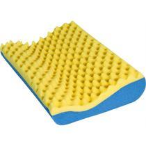 Travesseiro Cervical Comfort Luck Ortopédico Caixa de Ovo Luckspuma -