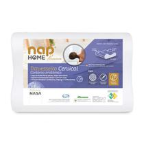 Travesseiro Cervical Nasa Premium Nap Home Capa Impermeável -
