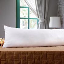 Travesseiro Corpo 0,40x1,30m Agarradinho Suporte Médio Percal 180 Fios - Trisoft