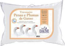 Travesseiro Daune 80%Penas e 20%Plumas de Ganso - 50x70 cm - Daune Travesseiros
