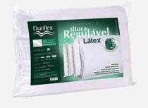 Travesseiro de Latex Natural com Altura Regulável Duoflex RL1103 -