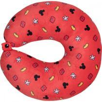 Travesseiro De Pescoço Duas Faces Mickey - Disney