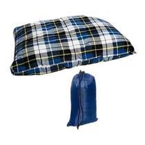 Travesseiro de Pescoco Echolife Flanelado Pillow TR0001 -