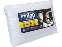Travesseiro de Viagem Trip Top Para Acoplar na Cabeceira do Carro e Travesseiro de Hotel Fibrasca -