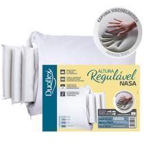 Travesseiro Duoflex Nasa Altura Regulável -