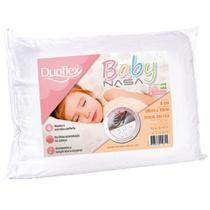 Travesseiro Duoflex Nasa Baby Viscoelástico 30x40x6cm BB1002 -