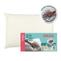 Travesseiro Duoflex Nasa Viscoelástico 50x70x14cm NS1118 -