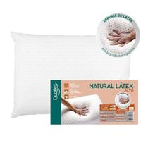 Travesseiro duoflex natural latex alto 50x70x16 -
