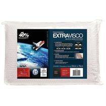 Travesseiro Extravisco Branco 70 x 50cm - Fibrasca -