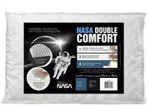 Travesseiro Fibrasca de Cabeça Viscoelástico - Fibrasca NASA Double Comfort
