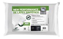 Travesseiro Fibrasca Látex Plus Sintético Lavável Em Maquina -