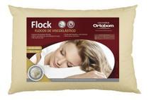 Travesseiro Flock Ortobom Espuma viscoelástica flocada -