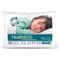 Travesseiro Infantil - Health Kids - 40cm x 60cm - Trisoft -