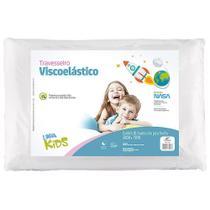 Travesseiro Infantil Nasa Kids Fibrasca Viscoelástico -