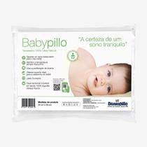 Travesseiro Látex 100 Natural BabyPillo Dunlopillo