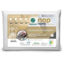 Travesseiro Nasa Alto Premium Nap Home Capa Impermeável - Altura 16cm -