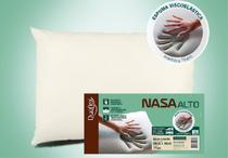 Travesseiro NASA Alto Viscoelástico - 50 x 70 cm - Duoflex -