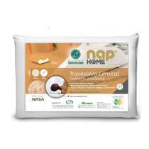 Travesseiro Nasa Cervical Contorno Anatomico Premium NAP -