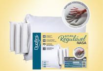 Travesseiro NASA de Altura Regulável - Duoflex - 50 X 70 cm -