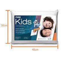 Travesseiro Nasa - Nap Kids Branco -