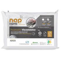 Travesseiro Nasa Premium Nap Home Capa Impermeável - Altura 16cm -