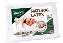 Travesseiro natural latex alto duoflex -