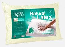 Travesseiro natural latex alto  ln 1101 duoflex