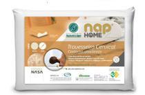 Travesseiro Ortopédico Nasa Cervical Premium Nap antiácaro Impermeável -