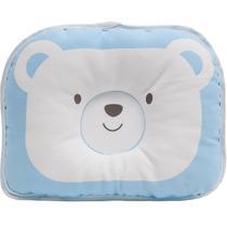 Travesseiro para Bebê - Urso Azul - BUBA -