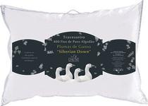 Travesseiro Plumas Siberianas 400 Fios 50x70 cm - Daune -