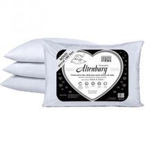Travesseiro Suporte Extra Firme - Percal 180 Fios - 100 algodão - Altenburg -