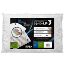 Travesseiro Viscoelástico com Toque Massageador Nasa UP 3 - Fibrasca
